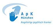 Aktionsgemeinschaft der Angehörigen psychisch Kranker, ihrer Freunde und Förderer e.V. München - APK - Logo small