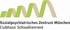 Clubhaus Schwalbennest - Sozialpsychiatrisches Zentrum München - Logo small