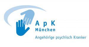 Aktionsgemeinschaft der Angehörigen psychisch Kranker, ihrer Freunde und Förderer e.V. München - APK - Logo