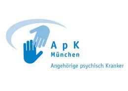 Aktionsgemeinschaft der Angehörigen psychisch Kranker, ihrer Freunde und Förderer e.V. München - APK - Logo - Beitragsbild