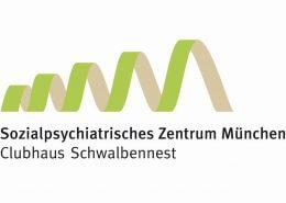 Clubhaus Schwalbennest - Sozialpsychiatrisches Zentrum München - Logo - Beitragsbild