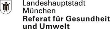 Landeshauptstadt München Referat für Umwelt und Gesundheit - Sozialpsychiatrischer Dienst Stadtmitte - Logo small
